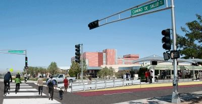 Rendering 2 - UNM Cancer Center