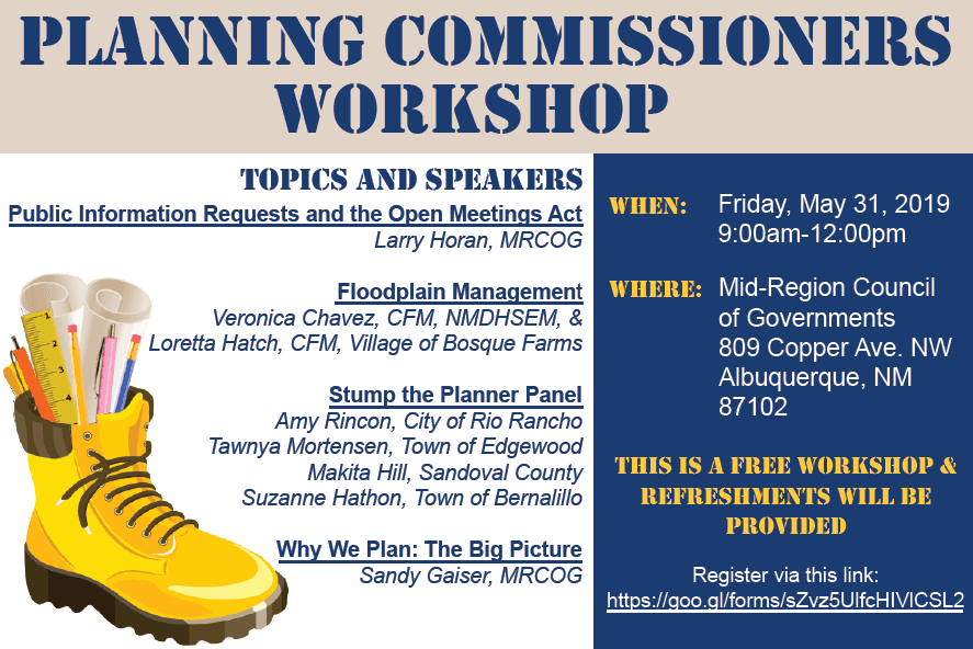 2019 Planning Commissioners Workshop