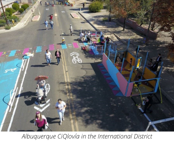 Albuquerque CiQlovia in the International District